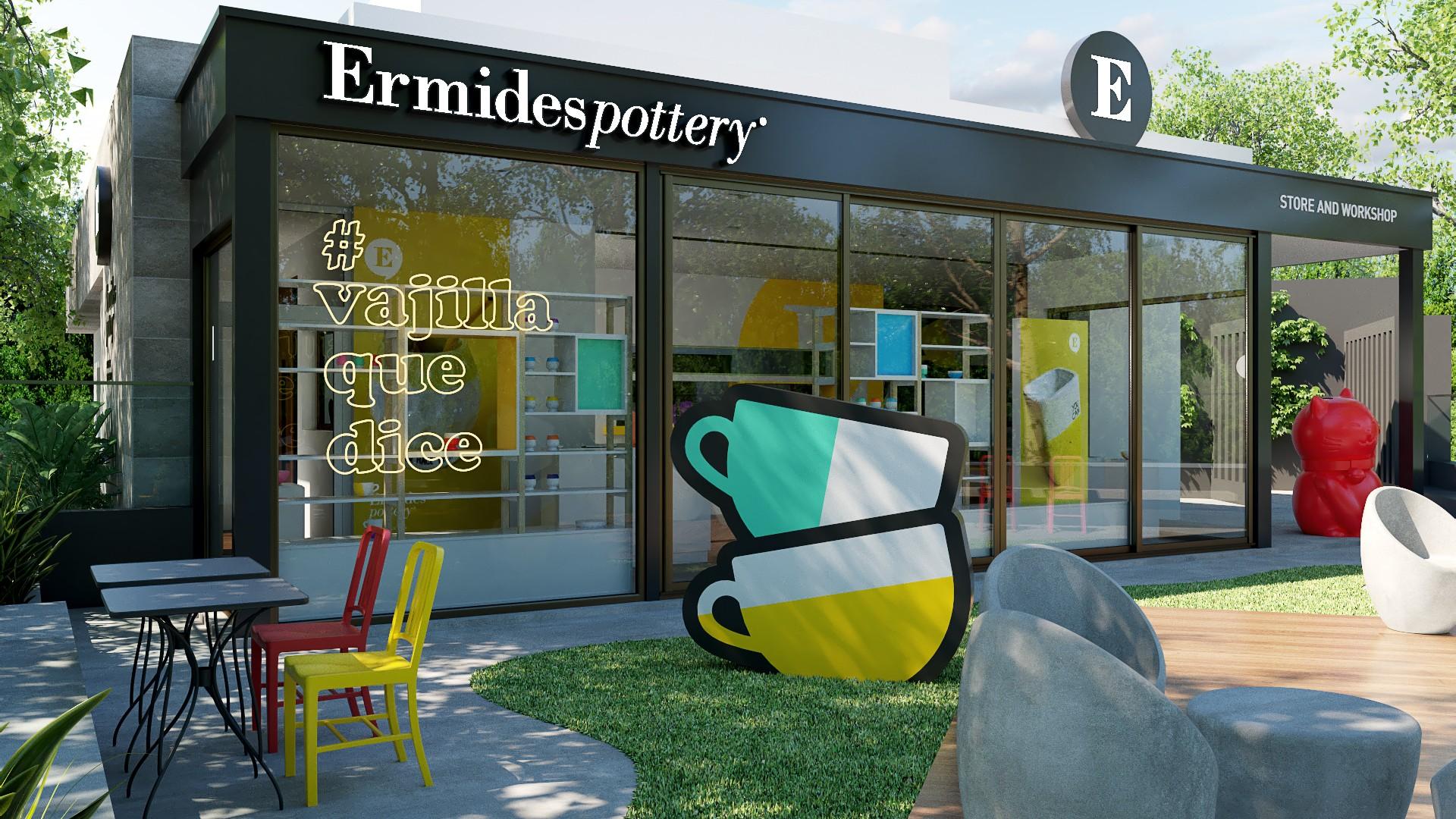 Ermides Pottery - Store & Workshop